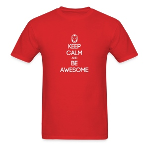 ENTP ~ Keep Calm and Be Awesome T-shirt - Men's T-Shirt