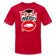 T-Shirts ~ Men's T-Shirt by American Apparel ~ Fresh University T-Shirt