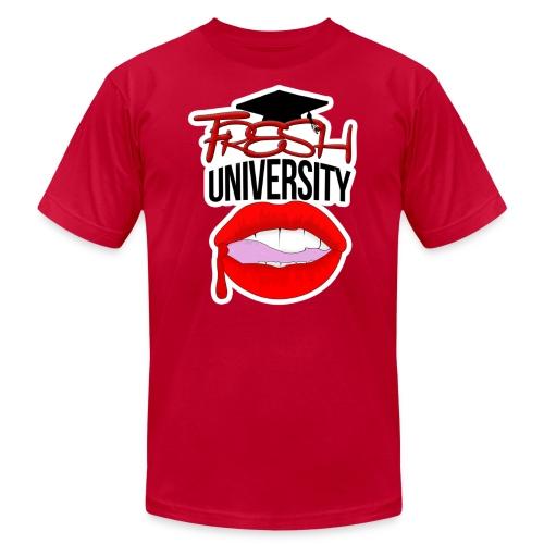 Fresh University T-Shirt - Men's Fine Jersey T-Shirt