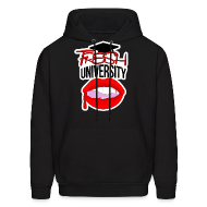 Hoodies ~ Men's Hooded Sweatshirt ~ Fresh University