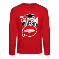 Long Sleeve Shirts ~ Crewneck Sweatshirt ~ Fresh University Crewneck
