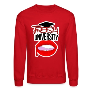 Fresh University Crewneck - Crewneck Sweatshirt