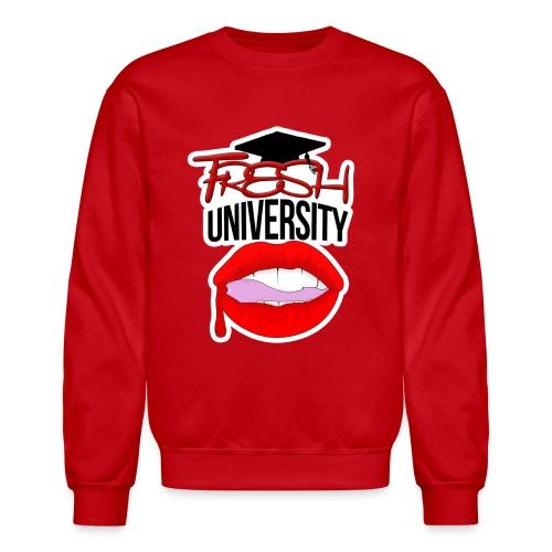 Fresh University Crewneck - Crewneck Sweatshirt