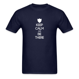 ISFJ ~ Keep Calm and Be There T-shirt - Men's T-Shirt
