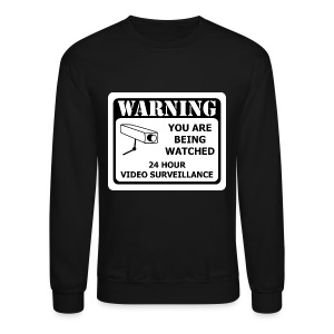 Warning Sweatshirt - Crewneck Sweatshirt