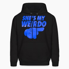 She's My Weirdo Galaxy Hoodies