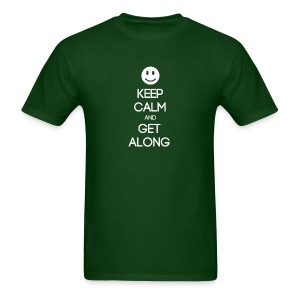 ENFJ ~ Keep Calm and Get Along T-shirt - Men's T-Shirt