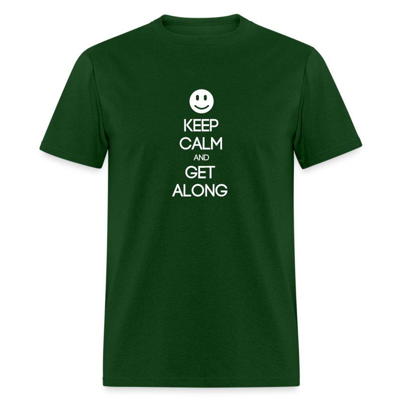 ENFJ ~ Keep Calm and Get Along T-shirt - Men's T-Shirt