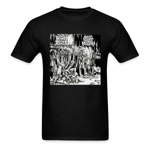 Krotchripper/Mass Murder Messiah - Men's T-Shirt