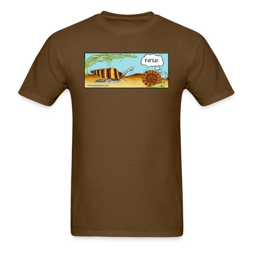 Assassin Snail Cartoon - Men's T-Shirt