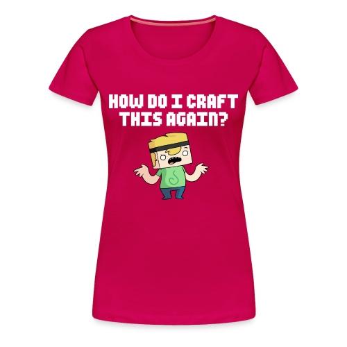 Women's HDICTA T-Shirt - Women's Premium T-Shirt