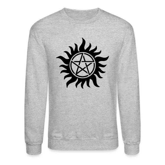 Fandom Shirts Demon Anti Possession Symbol Crewneck Sweatshirt