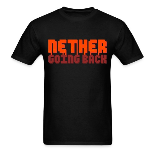 Men's Nether Going Back T-Shirt - Men's T-Shirt