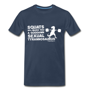 Sexual Tyrannosaurus - Men's Premium T-Shirt