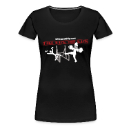 Women's T-Shirts ~ Women's Premium T-Shirt ~ Take back the rack