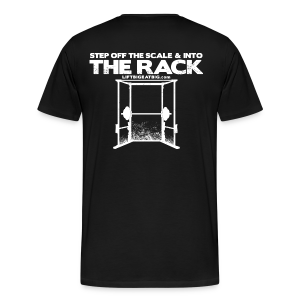 Step off the scale - Men's Premium T-Shirt