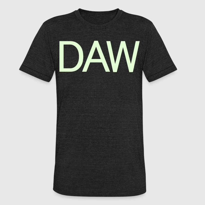 daw T-Shirts - Unisex Tri-Blend T-Shirt by American Apparel