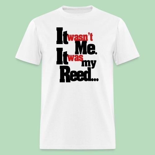 It Wasn't Me (Men's) - Men's T-Shirt