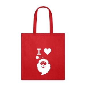 I LOVE SANTA CLAUS - Tote Bag - Tote Bag