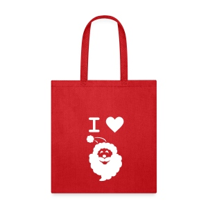 I LOVE SANTA CLAUS - Tote Bag - Tote Bag