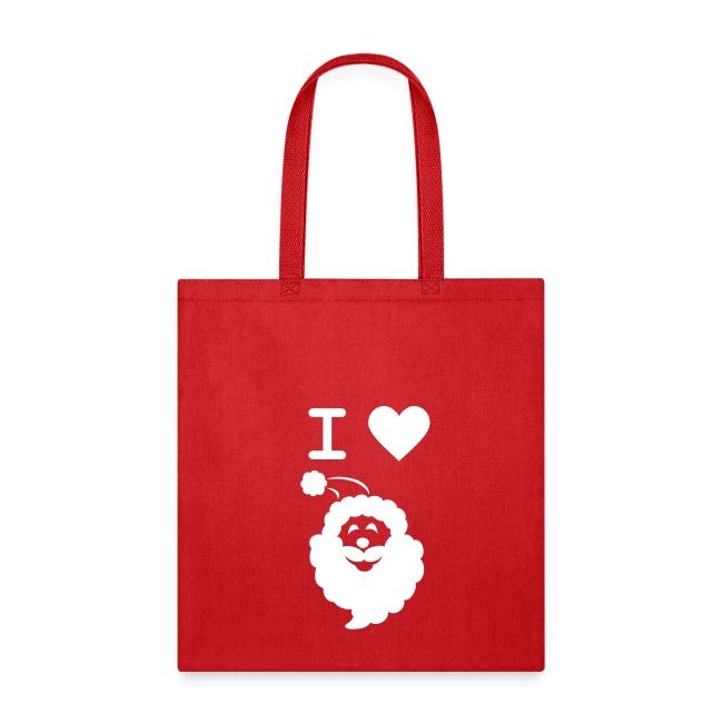 I LOVE SANTA CLAUS - Tote Bag