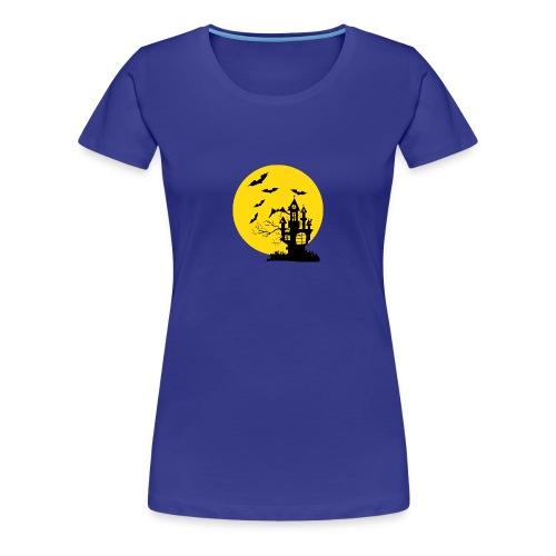 Haunted Castle - Women's Premium T-Shirt