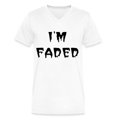 I'm Faded V Neck - Men's V-Neck T-Shirt by Canvas