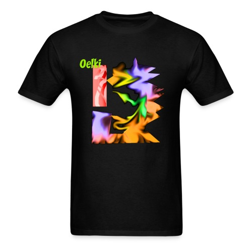 Oelki V1 Front Cover T Shirt - Men's T-Shirt