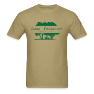 T-Shirts ~ Men's T-Shirt ~ Parks and Procreation Services