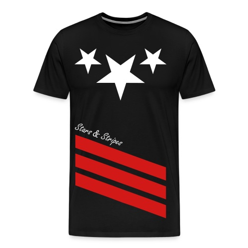 Stars & Stripes (T-shirts)  - Men's Premium T-Shirt