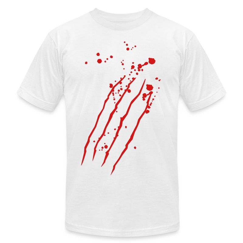 Blood t shirt spreadshirt for Making a shirt from scratch