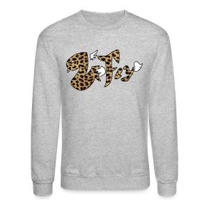 Venom Fly Logo Cheetah Print - Crewneck Sweatshirt