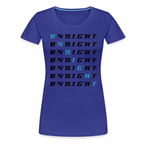 BYNIGHT blue/lightblue Women - Women's Premium T-Shirt
