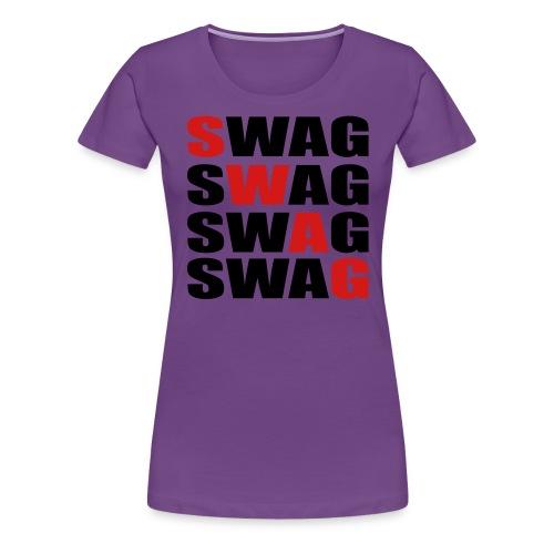 Women's swag shirt - Women's Premium T-Shirt