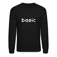 Long Sleeve Shirts ~ Crewneck Sweatshirt ~ Basic NYC Men's Sweatshirt