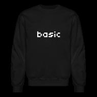 Long Sleeve Shirts ~ Crewneck Sweatshirt ~ Basic NYC Men's Sweatshirt