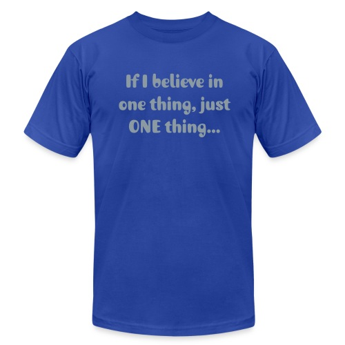 I Believe in Her Tee - Men's Fine Jersey T-Shirt
