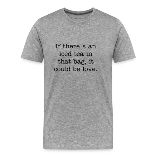 Iced Tea or Root Beer? Tee - Men's Premium T-Shirt