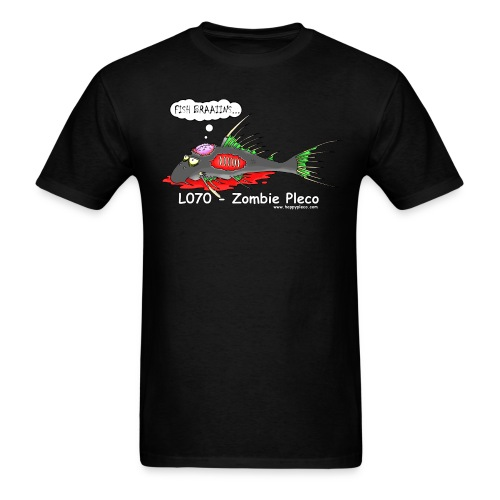 Zombie Pleco - Men's T-Shirt