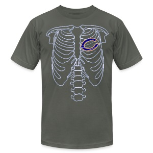 Where the Heart is... - Men's T-Shirt by American Apparel