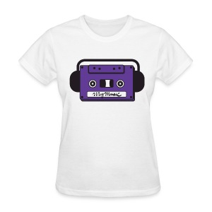 MyMusic Cassette Face (Women's) - Women's T-Shirt
