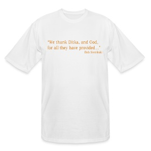 Ditka and God - Men's Tall T-Shirt