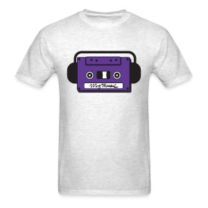 MyMusic Cassette Face (Men's) - Men's T-Shirt
