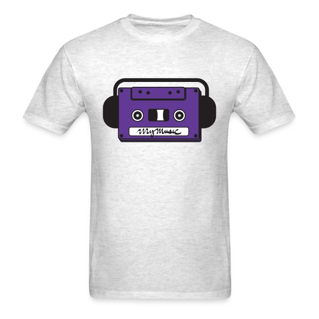 MyMusic Cassette Face (Men's)