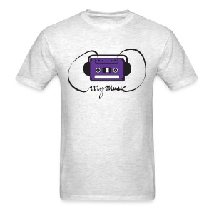 MyMusic Ribbon (Men's) - Men's T-Shirt