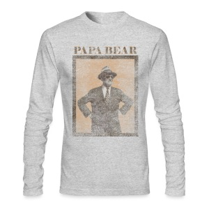 Papa Bear - Men's Long Sleeve T-Shirt by Next Level