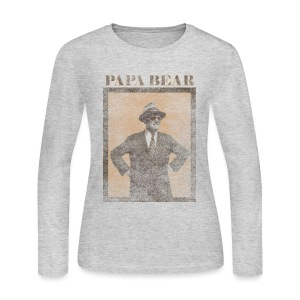 Papa Bear - Women's Long Sleeve Jersey T-Shirt