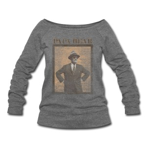 Papa Bear - Women's Wideneck Sweatshirt