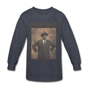 Papa Bear - Kids' Long Sleeve T-Shirt