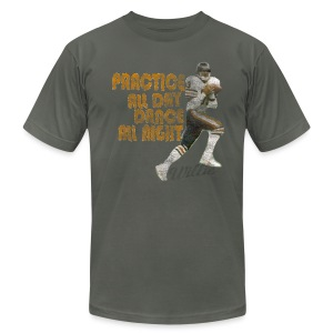 Willie Practice Dance - Men's T-Shirt by American Apparel
